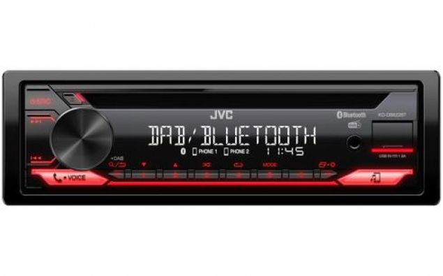 CD-Receiver mit DAB+ / Bluetooth / USB / Spotify / FLAC