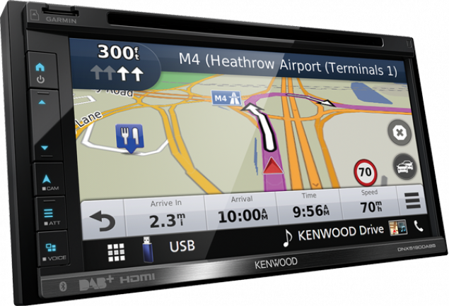 KENWOOD DNX-5190DABS 2-Din Navigation mit Bluetooth