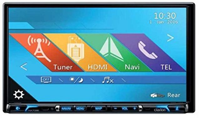 Clarion NX706E 2-DIN-DVD-MULTIMEDIASTATION