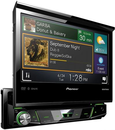 "Pioneer AVH-X7800BT 1-DIN-Moniceiver mit 7"" Touchscreen"