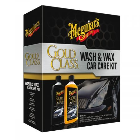 Gold Class Wash & Wax Car Care Kit