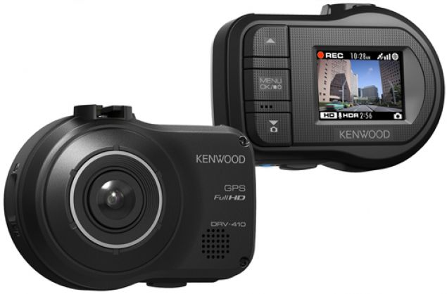 KENWOOD DRV-410 Dashcam Full-HD mit GPS