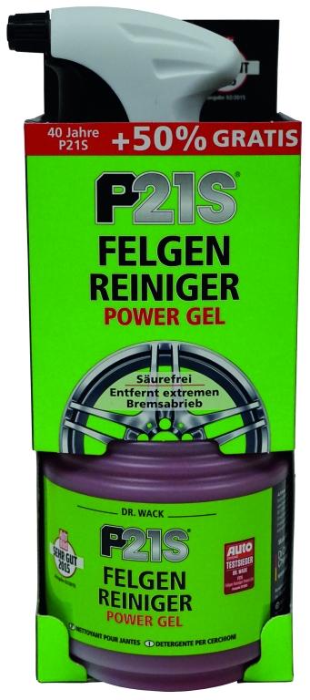 p21s felgenreiniger power gel 750 ml. Black Bedroom Furniture Sets. Home Design Ideas
