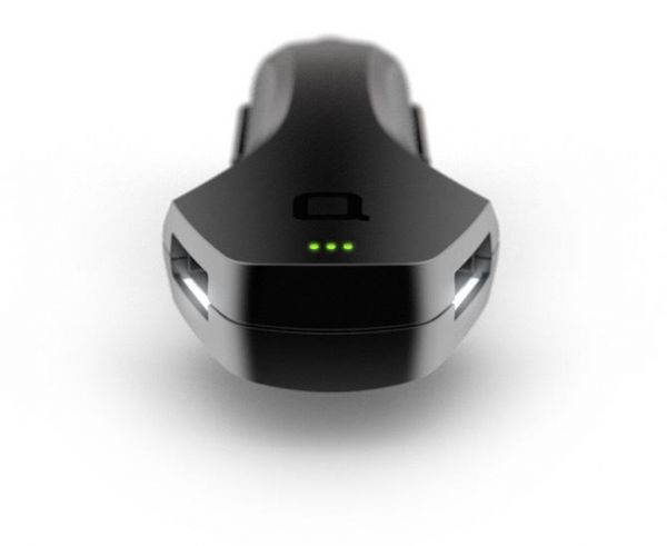 nonda ZUS Qualcomm USB Car Charger and Car Finder QC